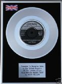 "RICKY NELSON-7"" Platinum Disc-HELLO MARYLOU GOODBYE H"